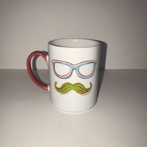 Food Network Mustache Coffee Mug